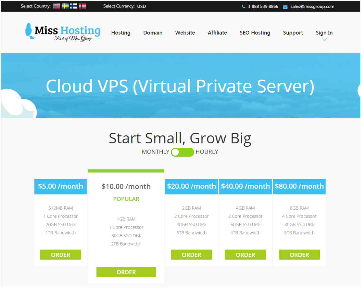 Miss Hosting uses OnApp to power flexible, scalable cloud VPS hosting
