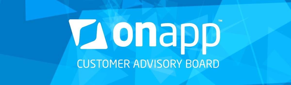 OnApp Customer Advisory Board WHD17