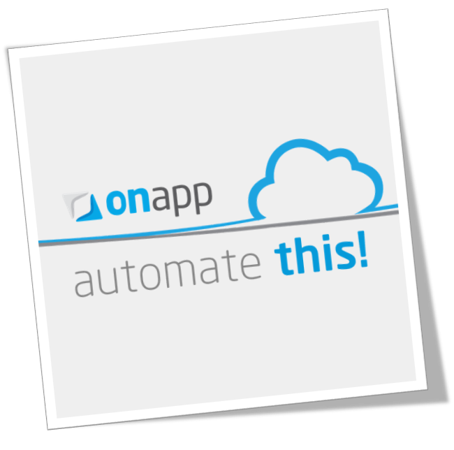 Back to basics: cloud automation with OnApp