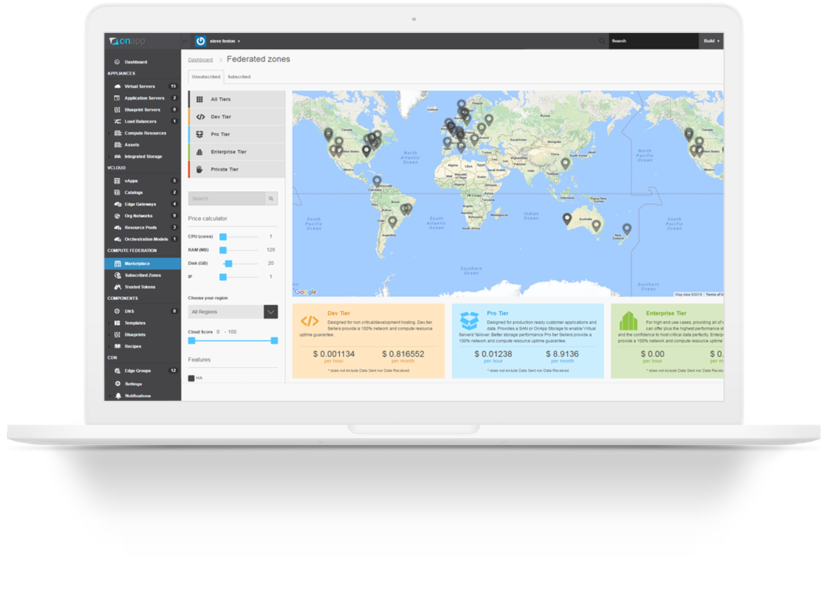 OnApp Federation - The global cloud at your fingertips