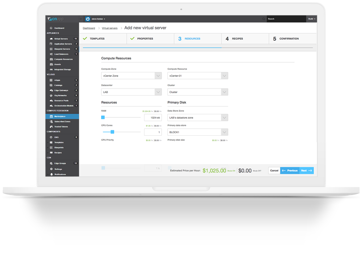 OnApp for VMware vCenter - The turnkey cloud management portal for vCenter