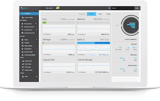 OnApp On Demand is a fully managed, white label cloud platform for Telcos and MSPs.
