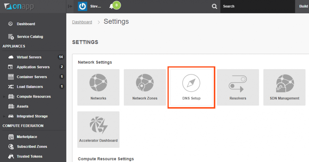 How to use OnApp's Anycast DNS feature - cloud DNS management